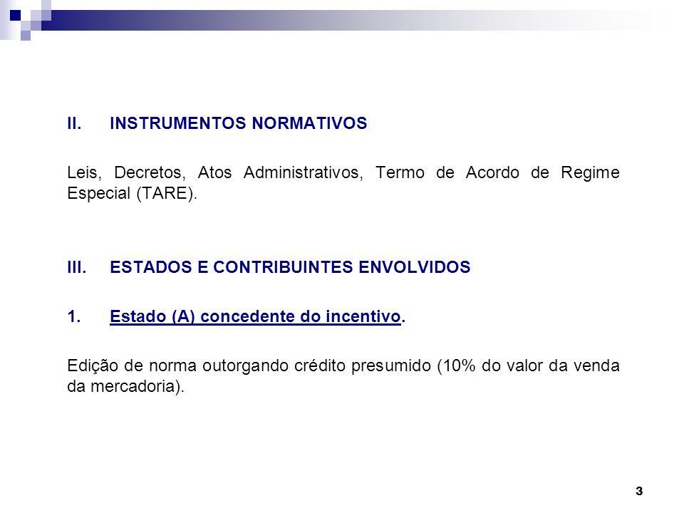 II. INSTRUMENTOS NORMATIVOS