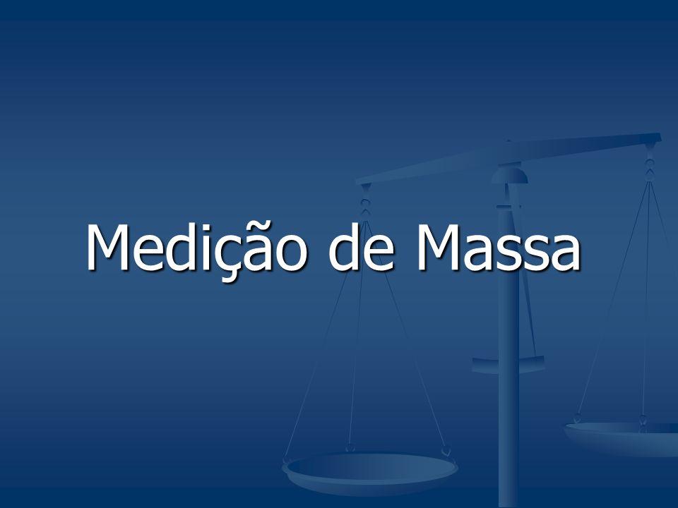 Medição de Massa