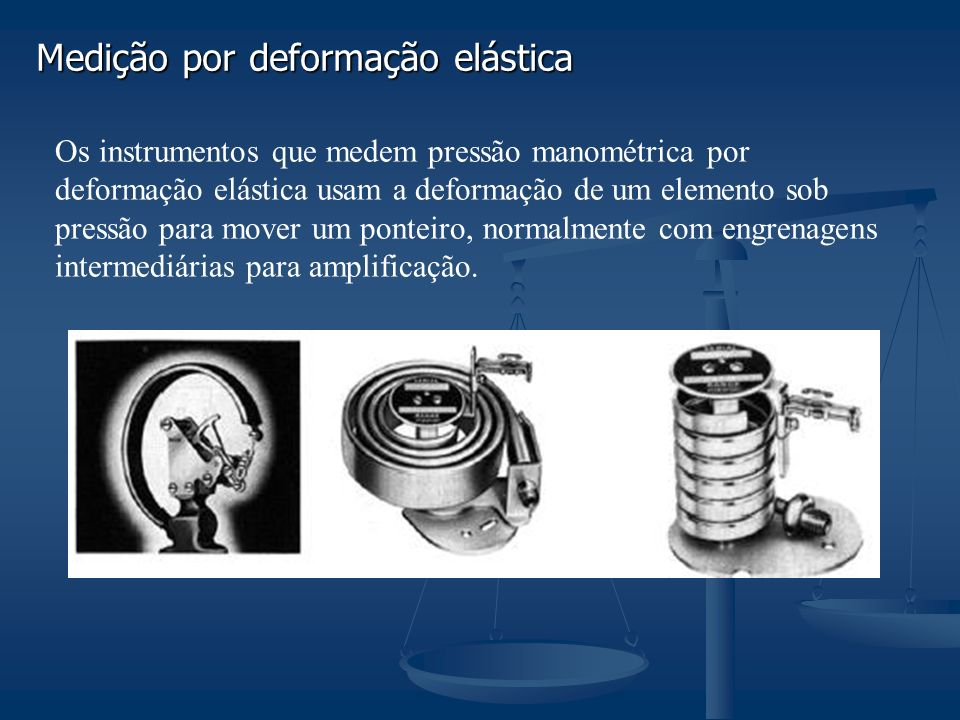 Medição por deformação elástica