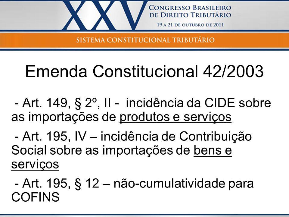 Emenda Constitucional 42/2003