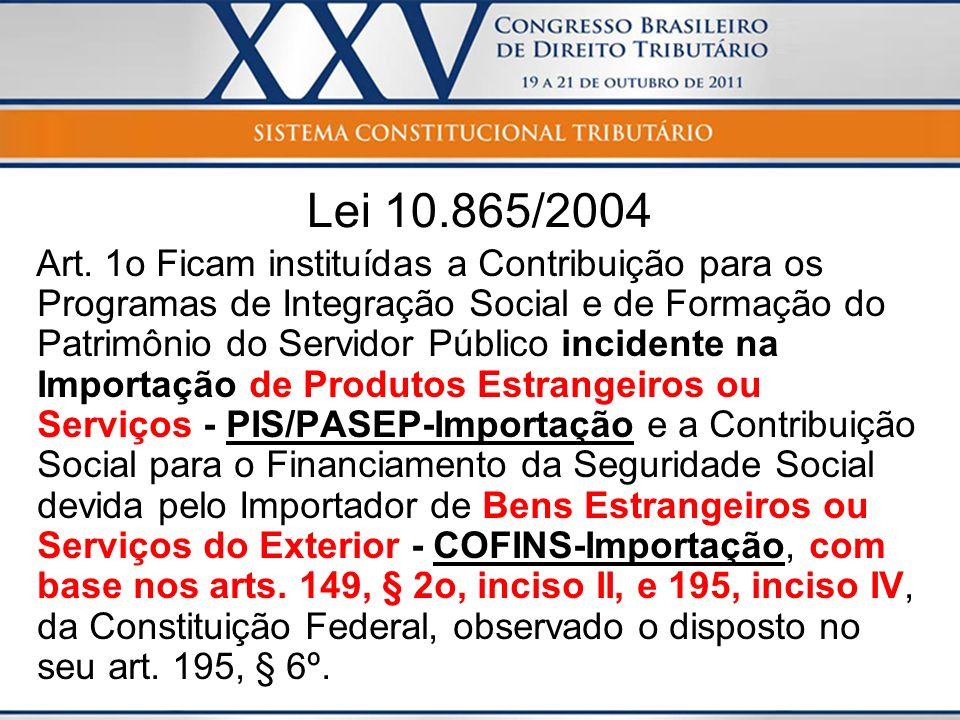 Lei 10.865/2004