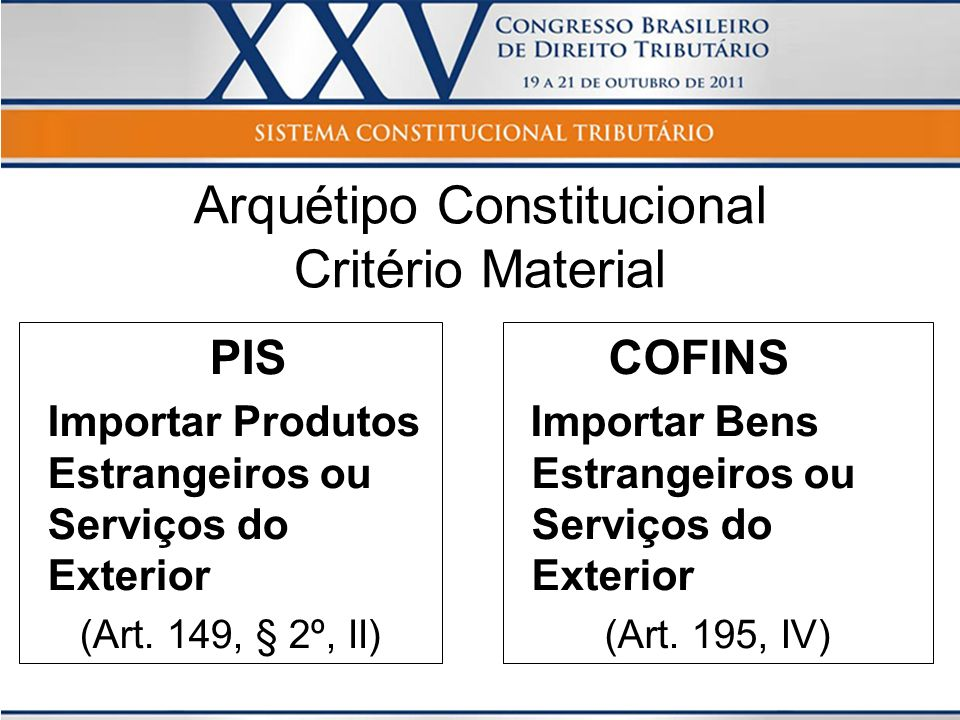 Arquétipo Constitucional Critério Material