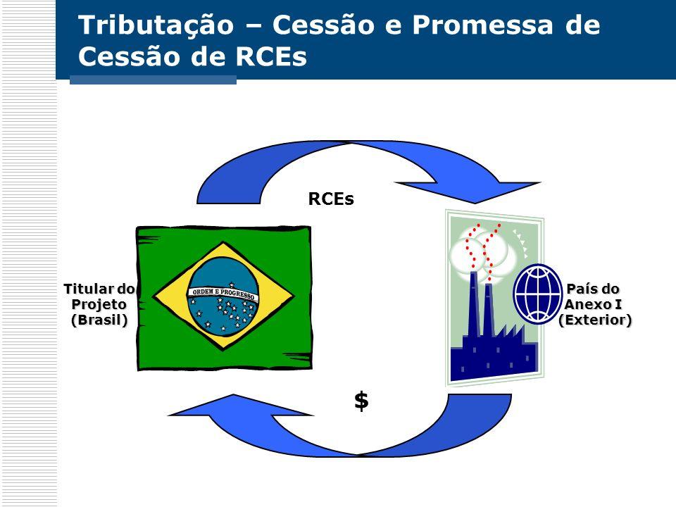 Tributação – Cessão e Promessa de Cessão de RCEs