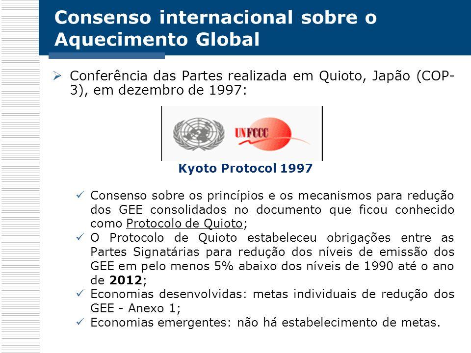 Consenso internacional sobre o Aquecimento Global