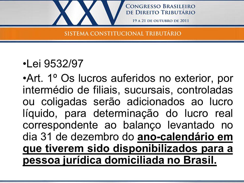Lei 9532/97