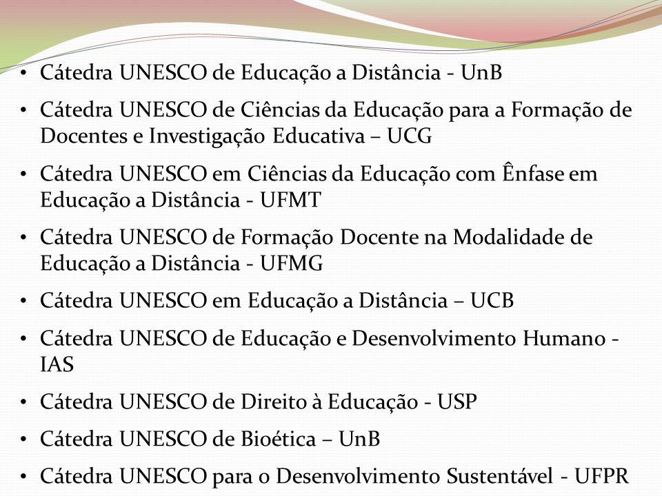 Cátedra UNESCO de Educação a Distância - UnB