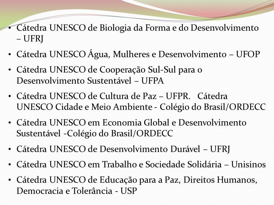 Cátedra UNESCO de Biologia da Forma e do Desenvolvimento – UFRJ