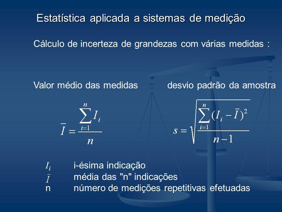 Estatística aplicada a sistemas de medição