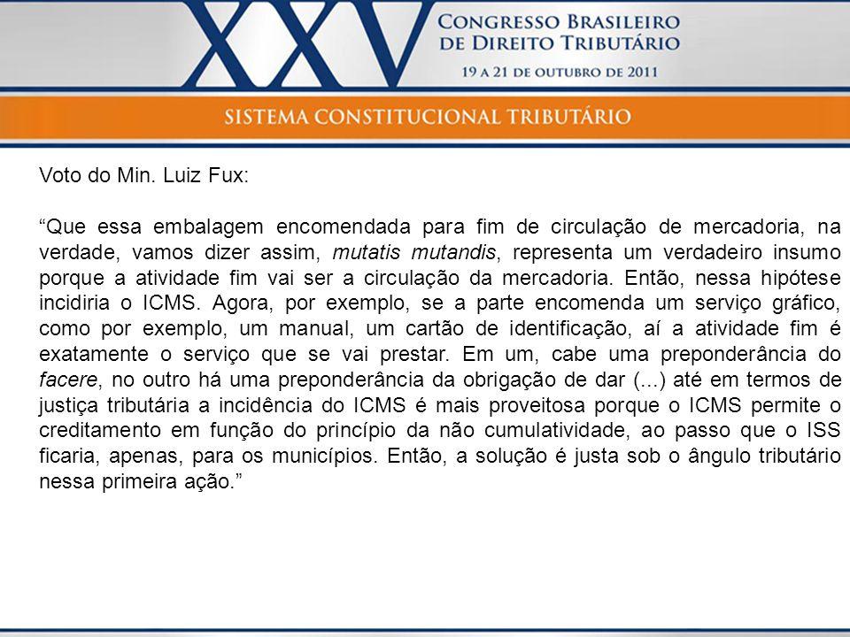 Voto do Min. Luiz Fux: