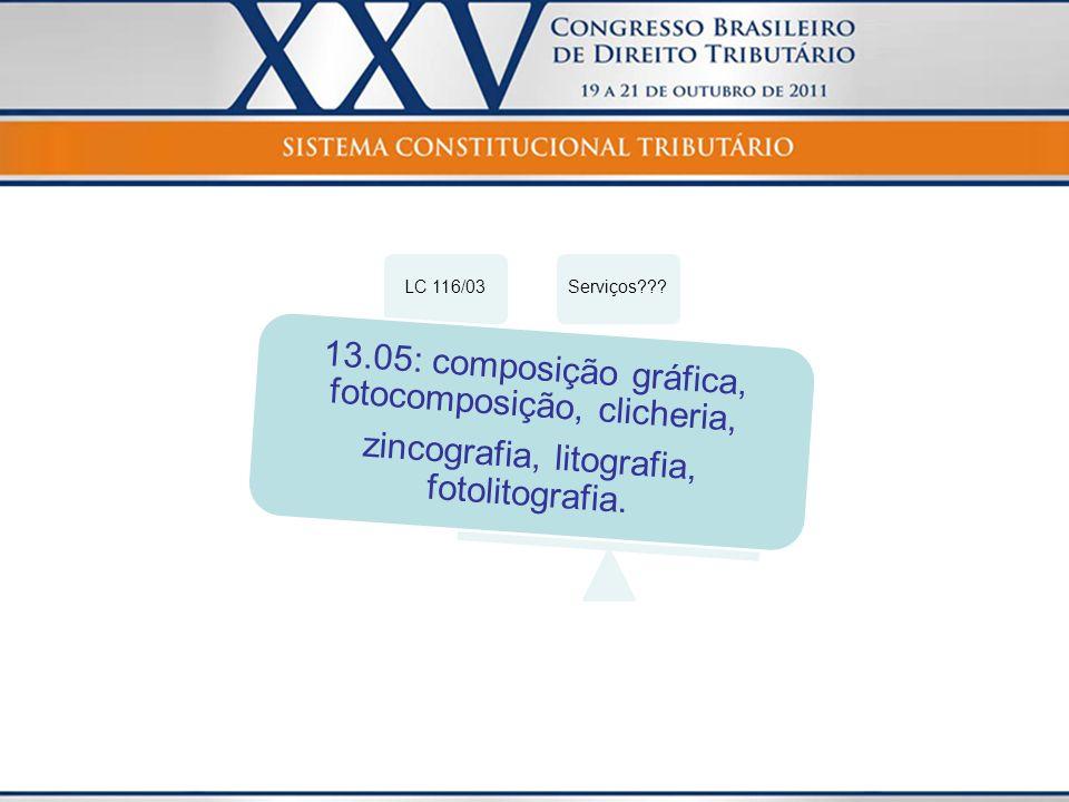 13.05: composição gráfica, fotocomposição, clicheria,