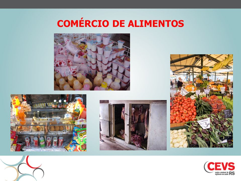 COMÉRCIO DE ALIMENTOS