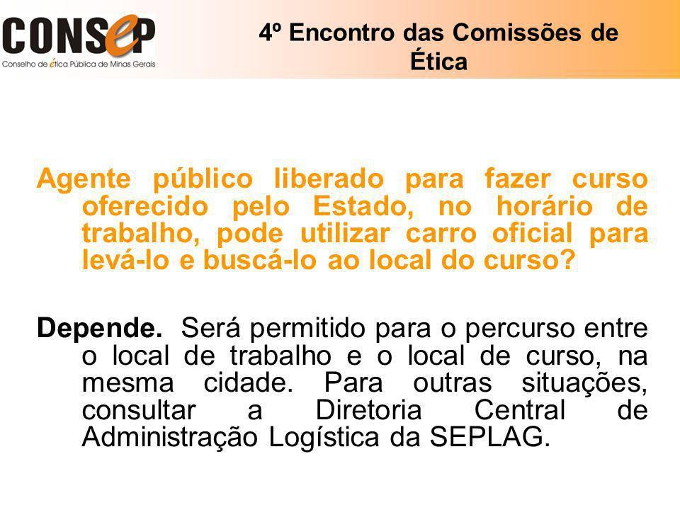 4º Encontro das Comissões de Ética