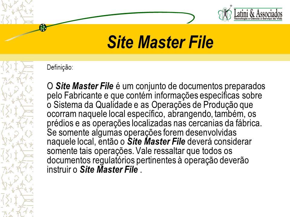 Site Master File Definição: