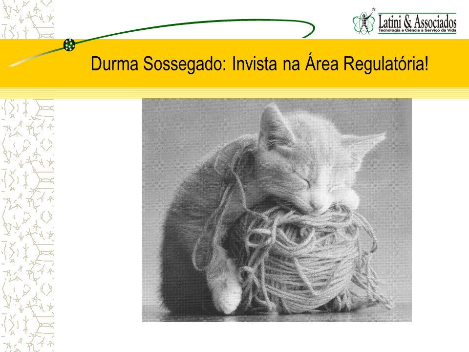 Durma Sossegado: Invista na Área Regulatória!