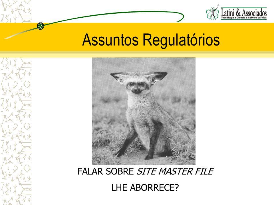 Assuntos Regulatórios