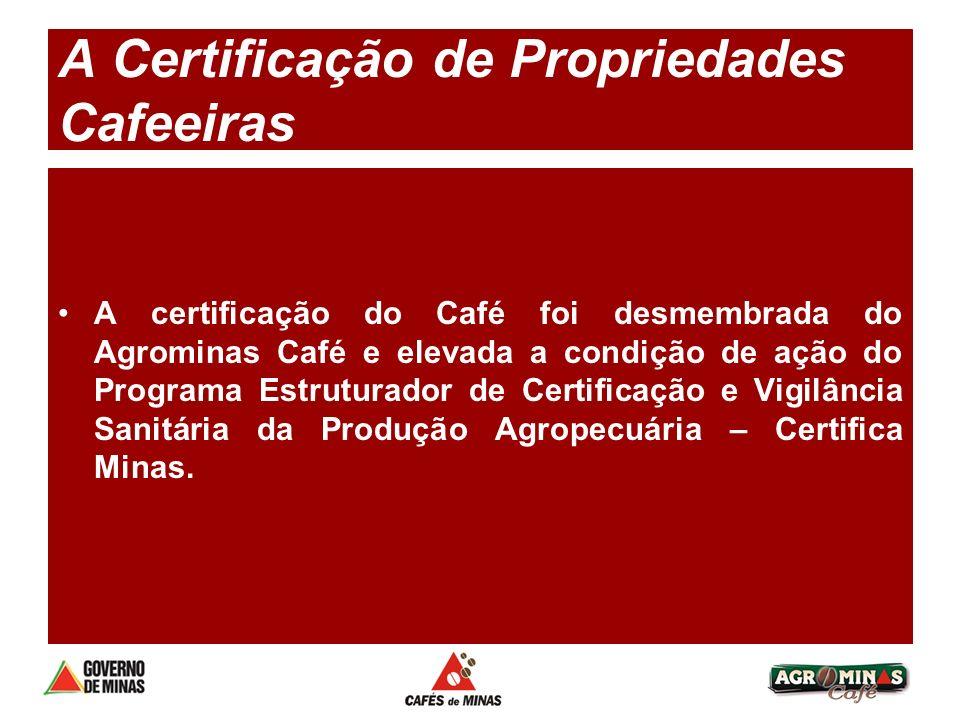 A Certificação de Propriedades Cafeeiras