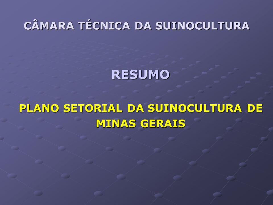 CÂMARA TÉCNICA DA SUINOCULTURA