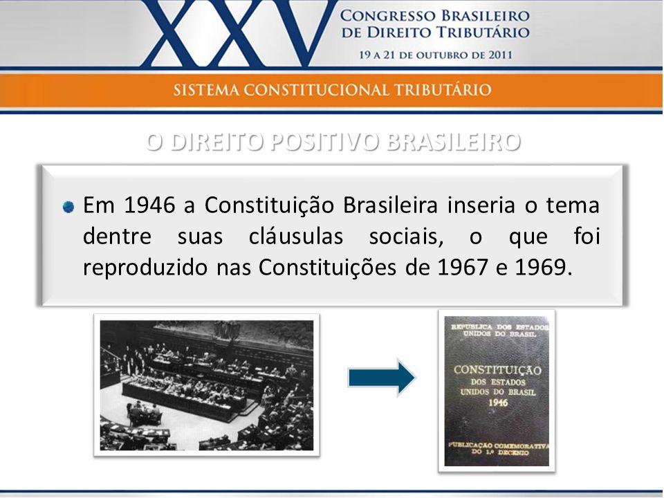 O DIREITO POSITIVO BRASILEIRO
