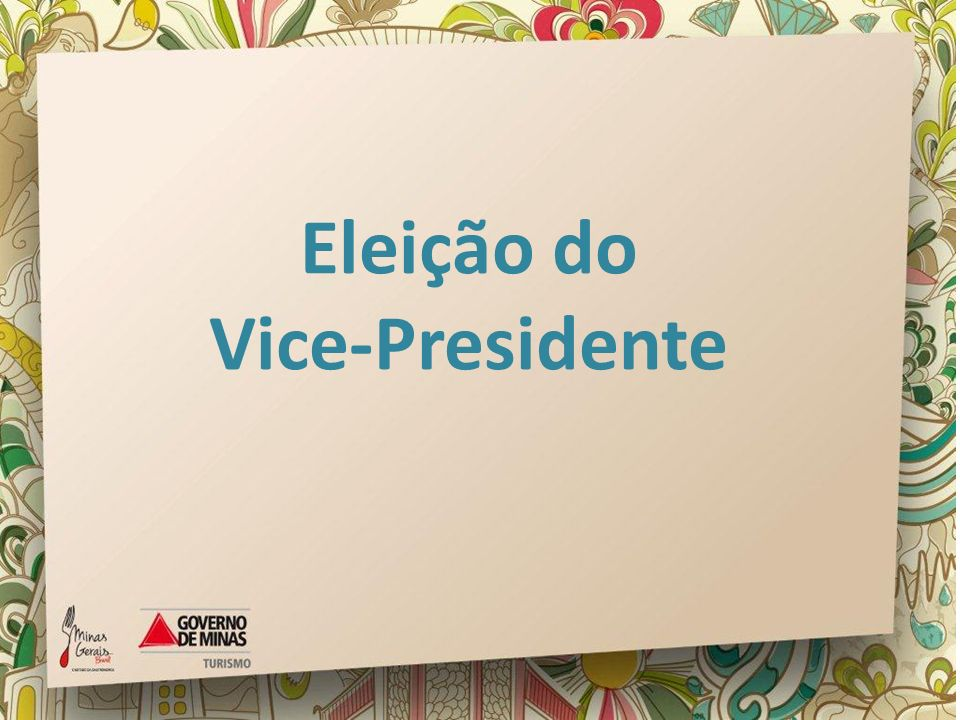 Eleição do Vice-Presidente