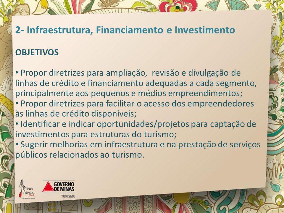 2- Infraestrutura, Financiamento e Investimento