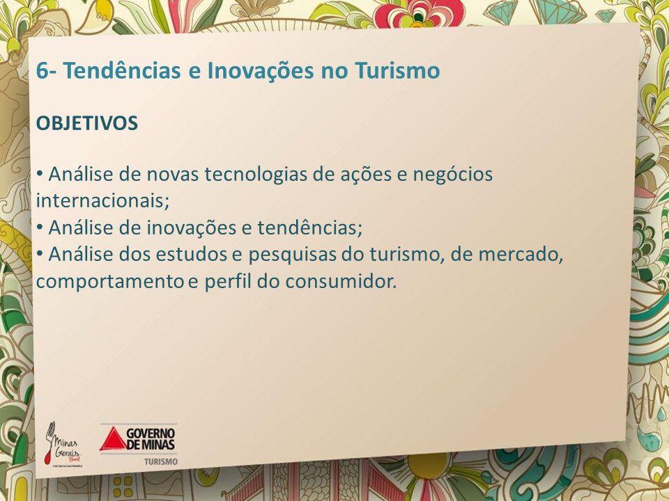 6- Tendências e Inovações no Turismo