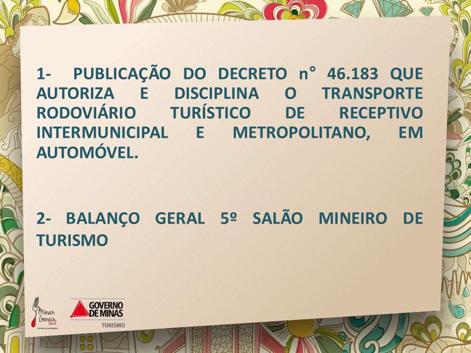 1- PUBLICAÇÃO DO DECRETO n° 46
