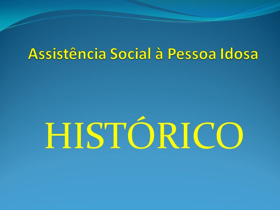 Assistência Social à Pessoa Idosa