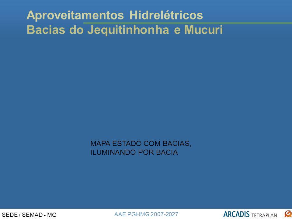 Aproveitamentos Hidrelétricos Bacias do Jequitinhonha e Mucuri