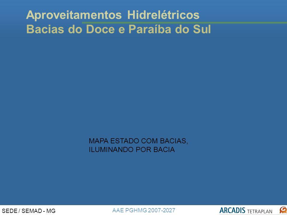 Aproveitamentos Hidrelétricos Bacias do Doce e Paraíba do Sul
