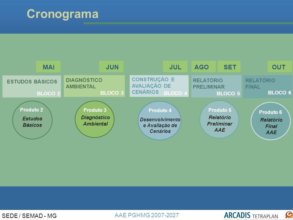 Diagnóstico Ambiental Desenvolvimento e Avaliação de Cenários