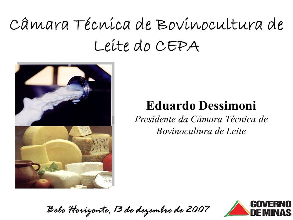 Câmara Técnica de Bovinocultura de Leite do CEPA