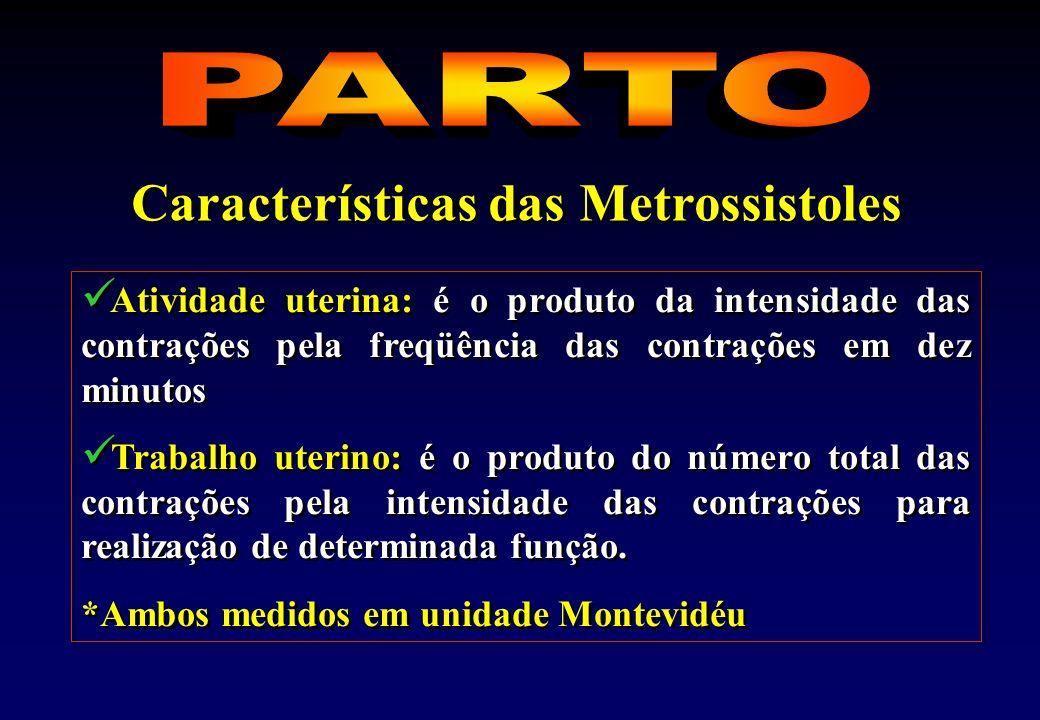 Características das Metrossistoles