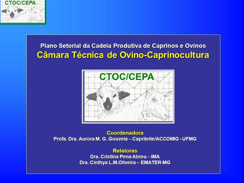 CTOC/CEPA Câmara Técnica de Ovino-Caprinocultura