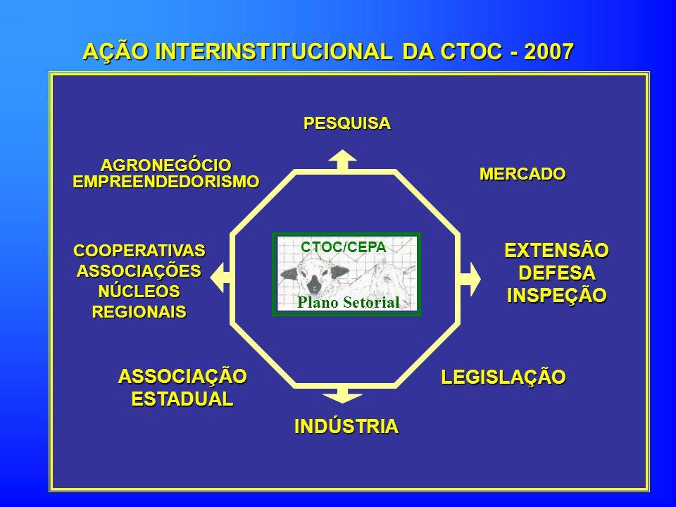 AÇÃO INTERINSTITUCIONAL DA CTOC - 2007