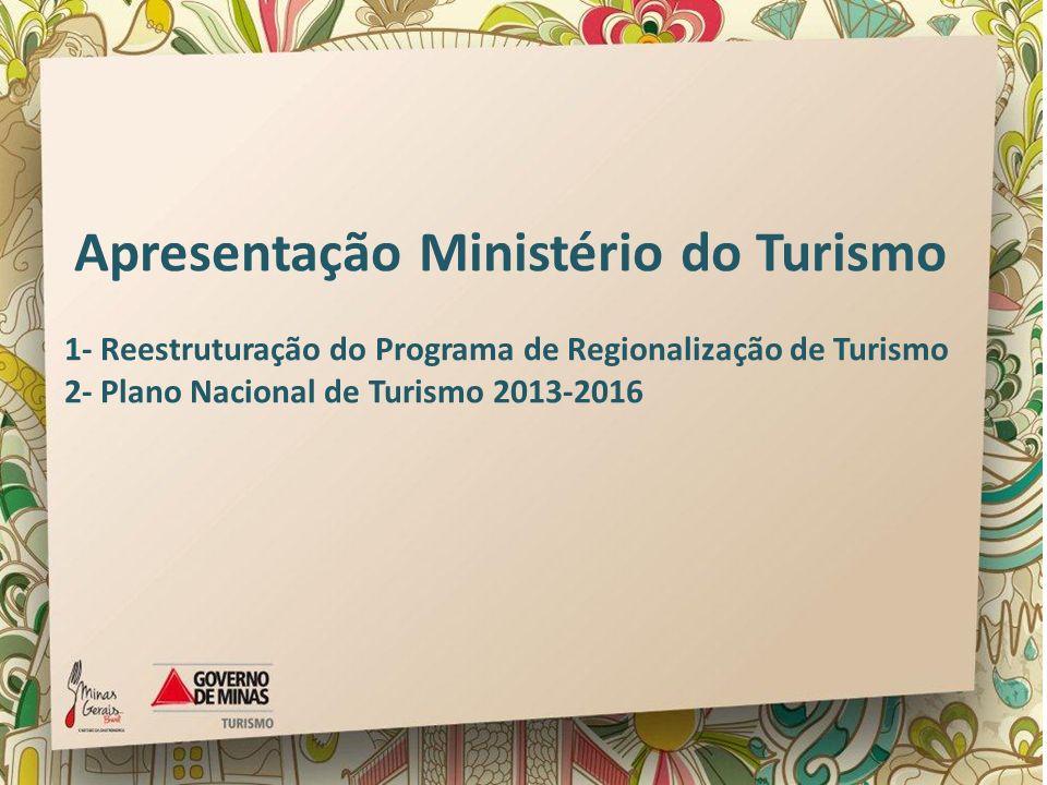 Apresentação Ministério do Turismo