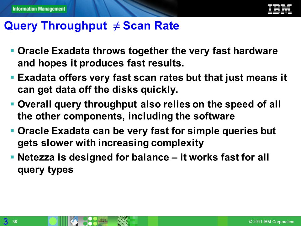 Query Throughput ≠ Scan Rate