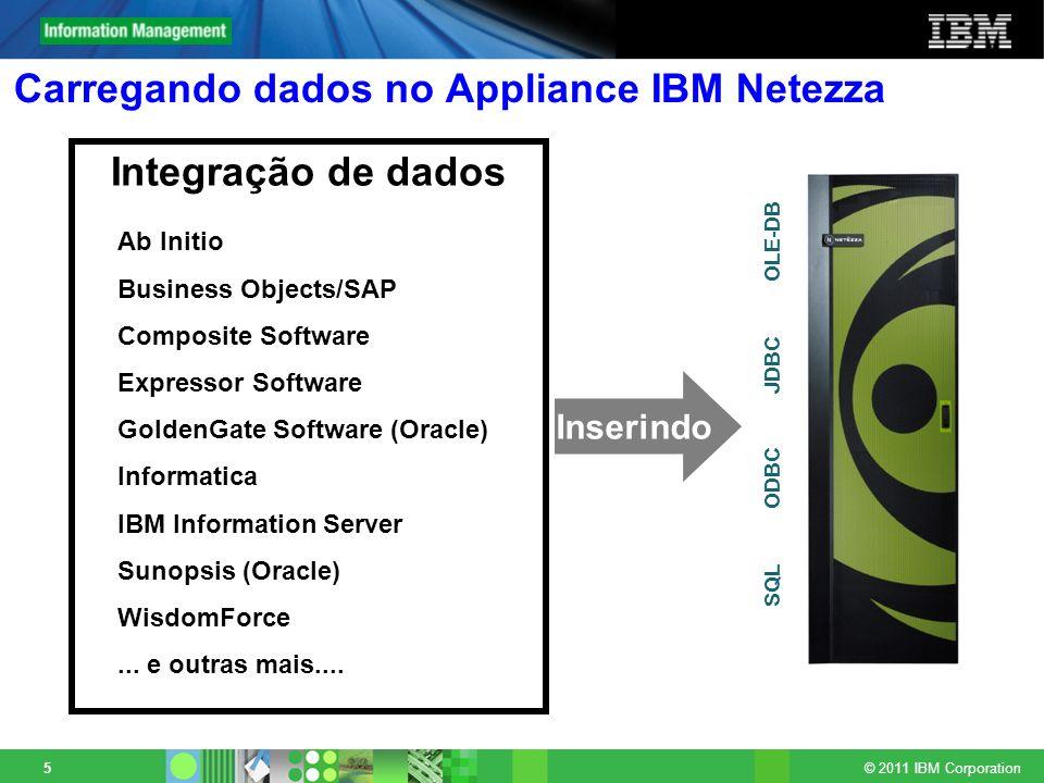 Carregando dados no Appliance IBM Netezza