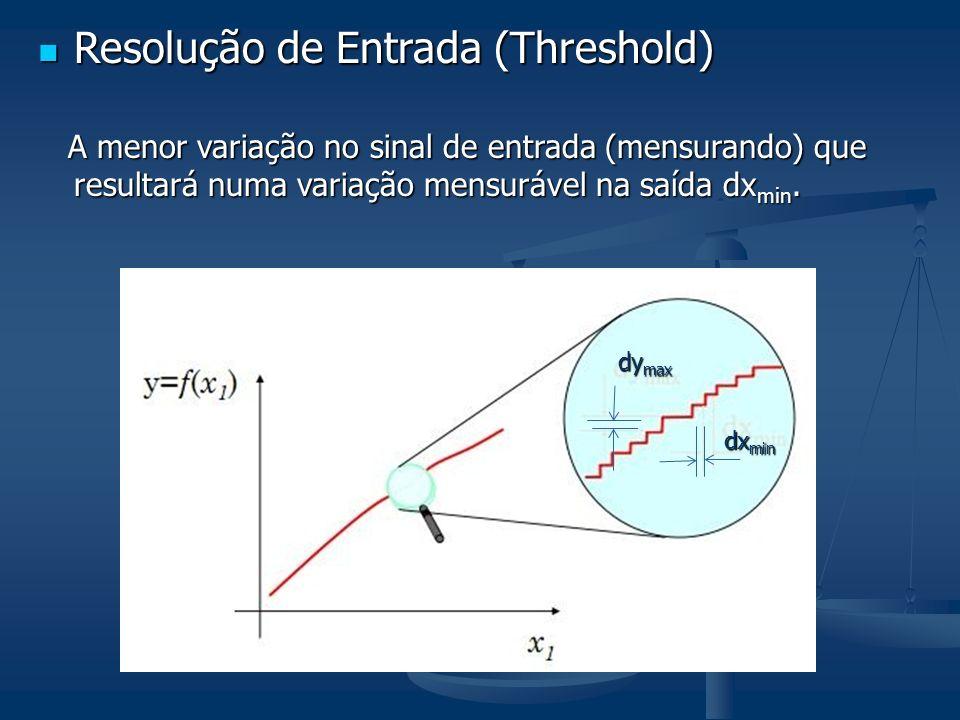 Resolução de Entrada (Threshold)