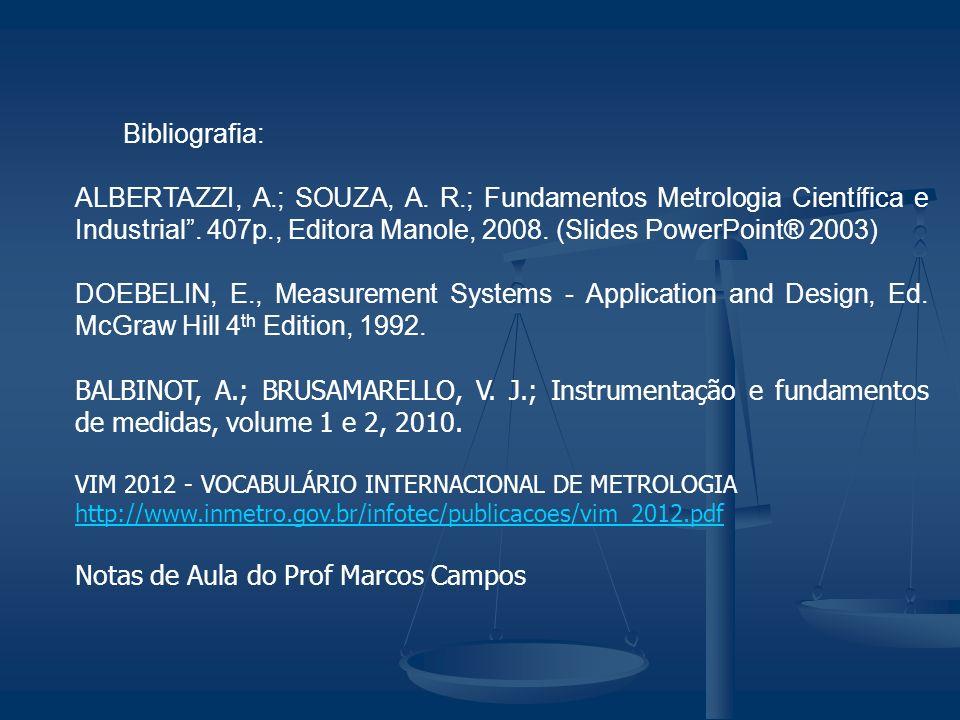 Notas de Aula do Prof Marcos Campos