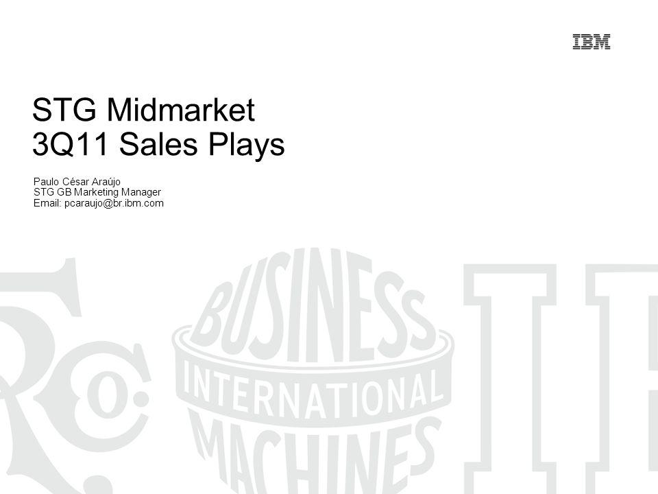 STG Midmarket 3Q11 Sales Plays