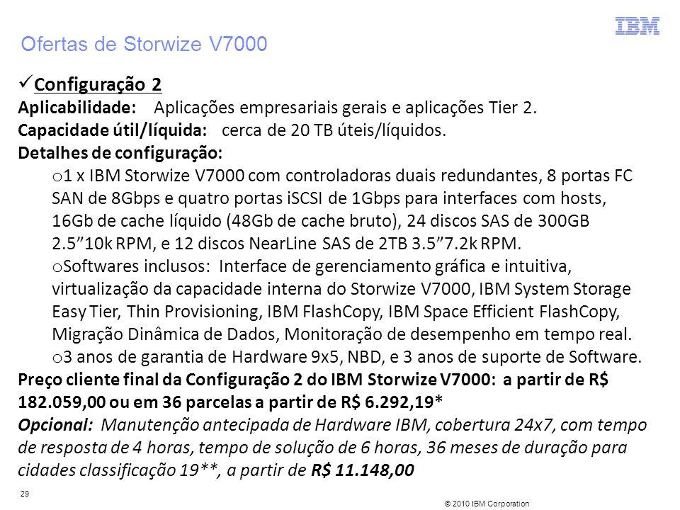Ofertas de Storwize V7000 Configuração 2