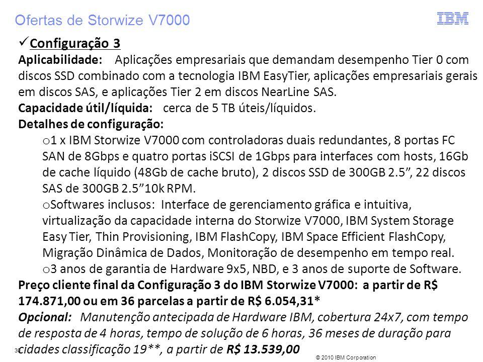Ofertas de Storwize V7000 Configuração 3
