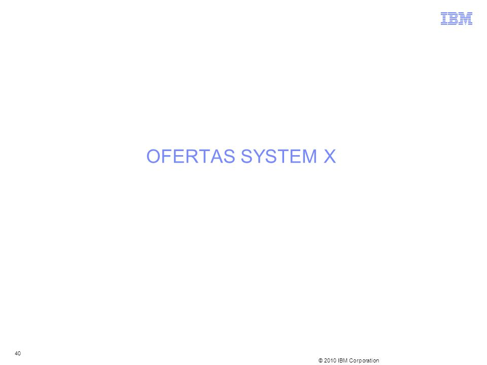 OFERTAS SYSTEM X