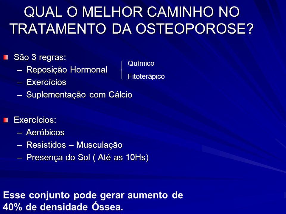 QUAL O MELHOR CAMINHO NO TRATAMENTO DA OSTEOPOROSE