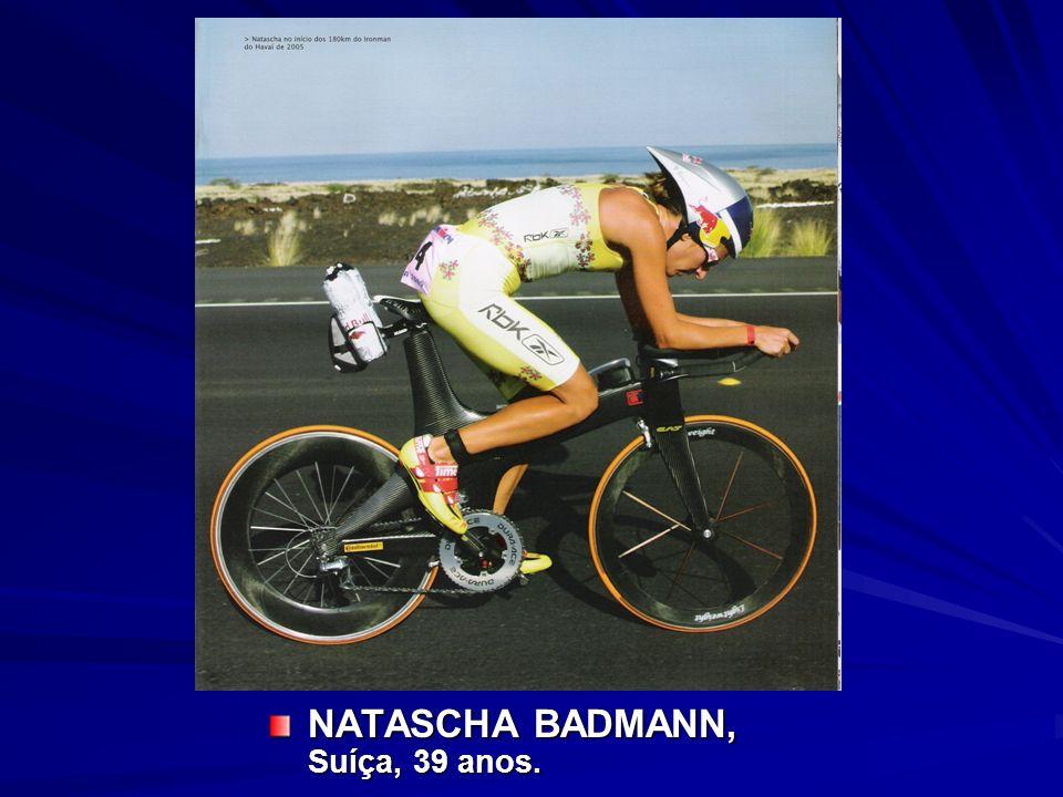 NATASCHA BADMANN, Suíça, 39 anos.