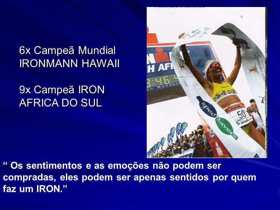 6x Campeã Mundial IRONMANN HAWAII