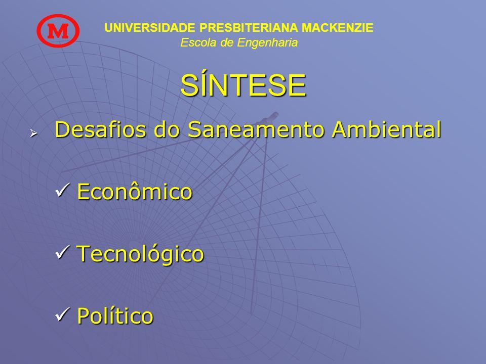 SÍNTESE Econômico Tecnológico Político