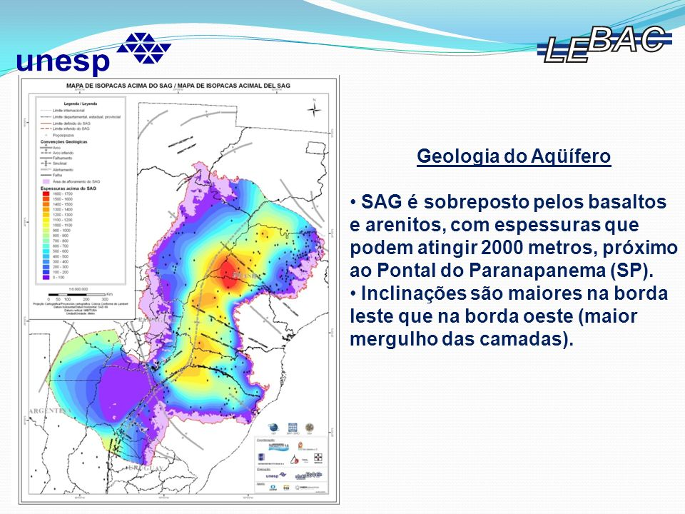 Geologia do Aqüífero