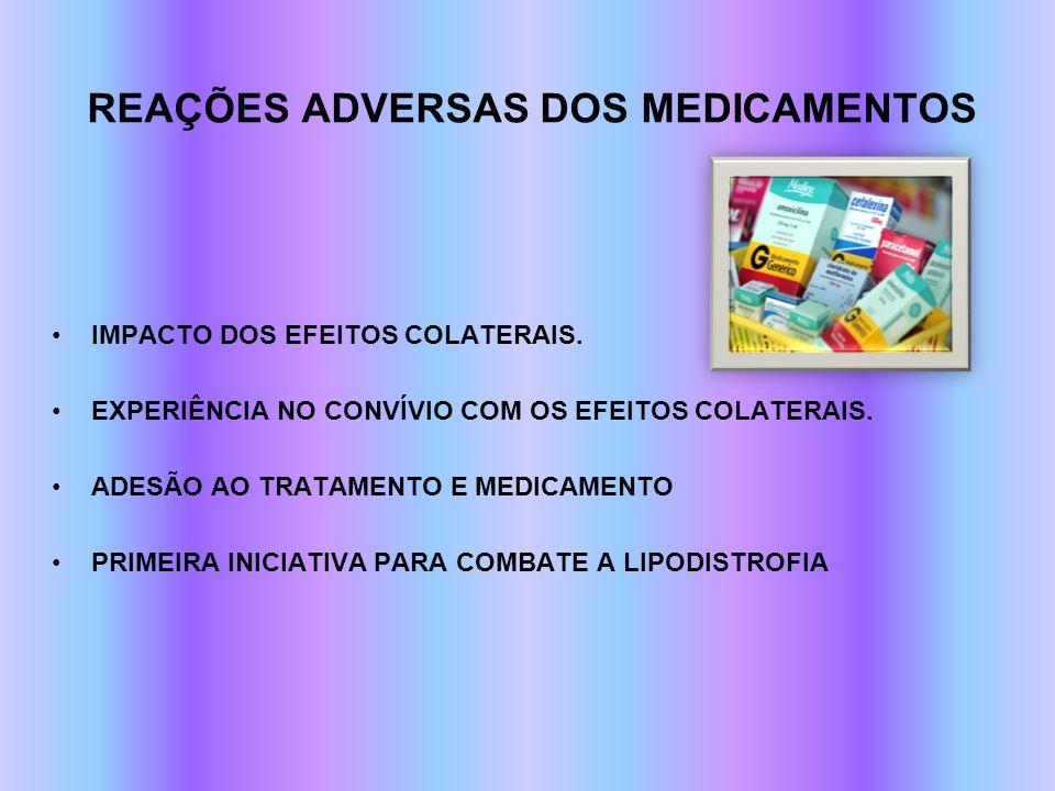 REAÇÕES ADVERSAS DOS MEDICAMENTOS