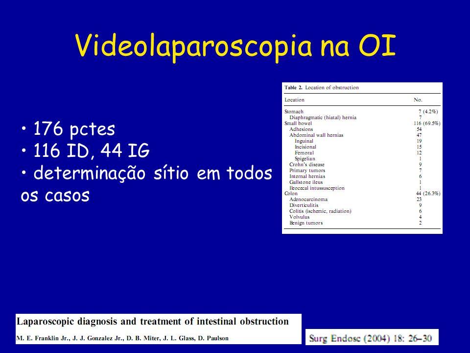 Videolaparoscopia na OI